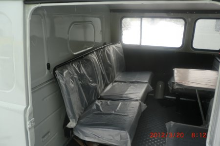 Кузов УАЗ-3909 452 фермер цельнометаллический в сборе